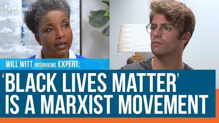 black lives marxist