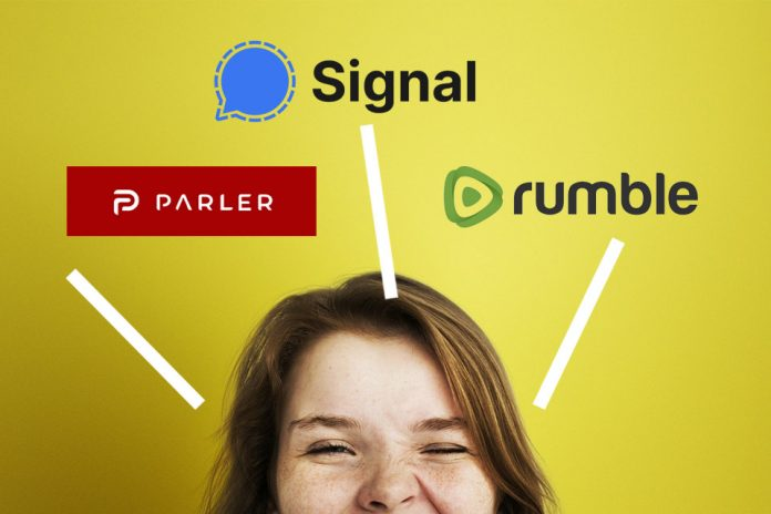 signal parler rumble